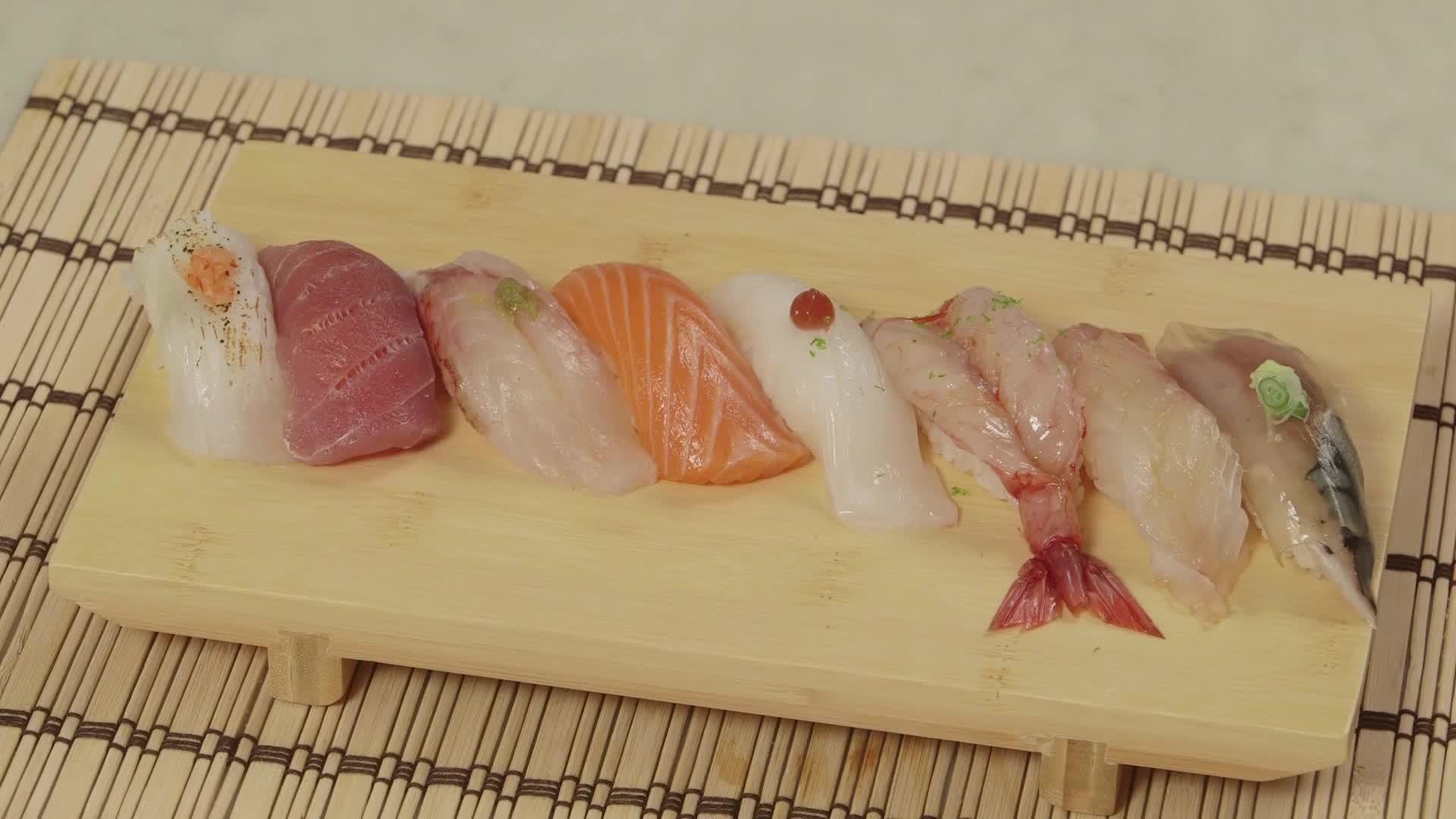 Ricetta Sushi Hiro.Traditional Sushi Video Gambero Rosso Tv